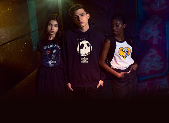 The Nightmare Before Christmas Creepy cool styles! Scare King Fashion just for you!