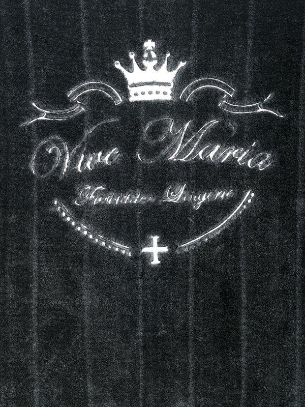 Vive Maria Fallen Angel Nerzfellimitat Decke schwarz – Bild 1