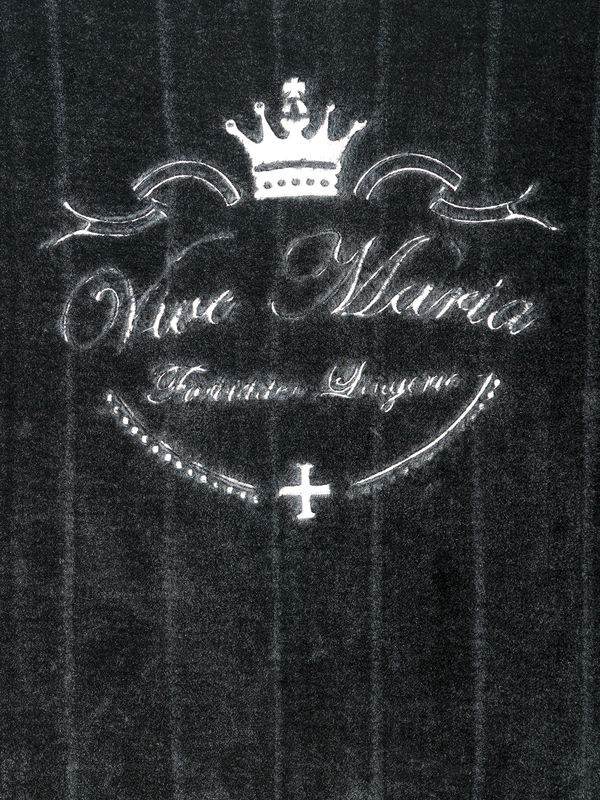 Vive Maria Fallen Angel mink imitation blanket black – Bild 2