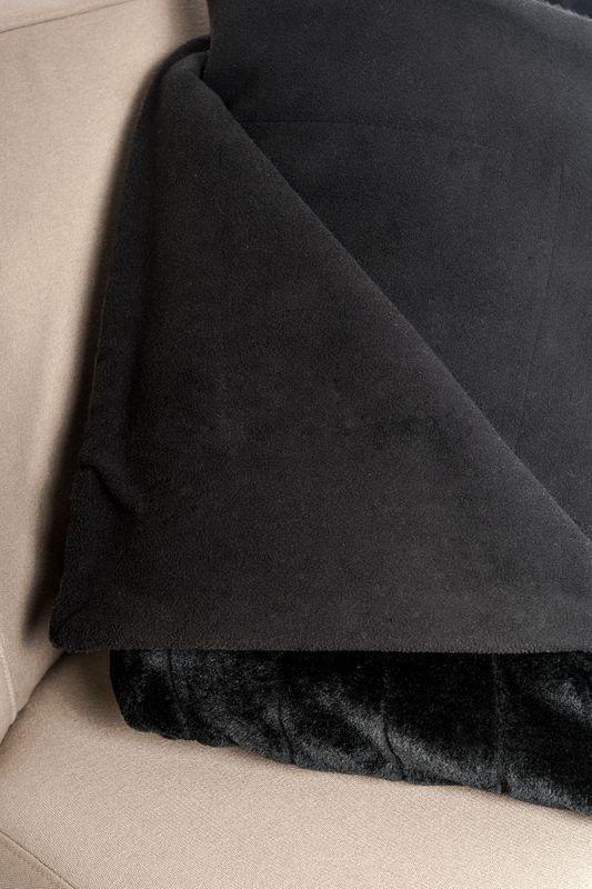 Vive Maria Fallen Angel mink imitation blanket black – Bild 8