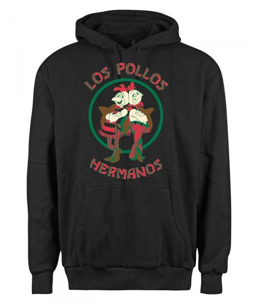 Breaking Bad Los Pollos Hermanos Hoodie, Herren Kapuzenpullover