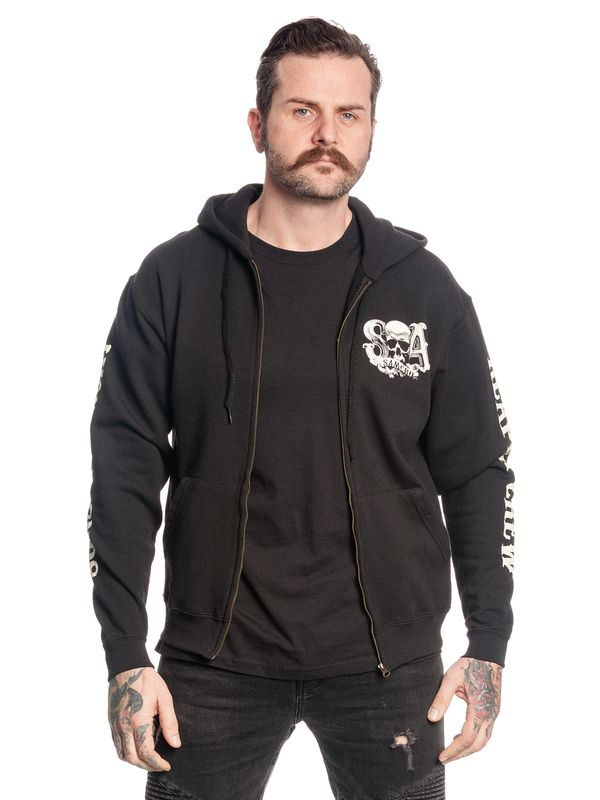 Sons of Anarchy Reaper Crew Zipper Hoodie view