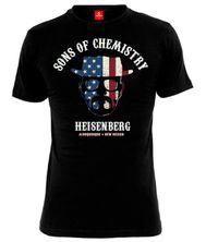 Breaking Bad BB Sons of Chemistry T-Shirt male black