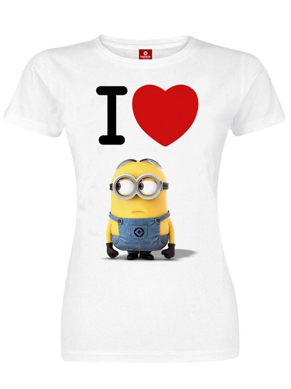 Minions T-Shirt female white