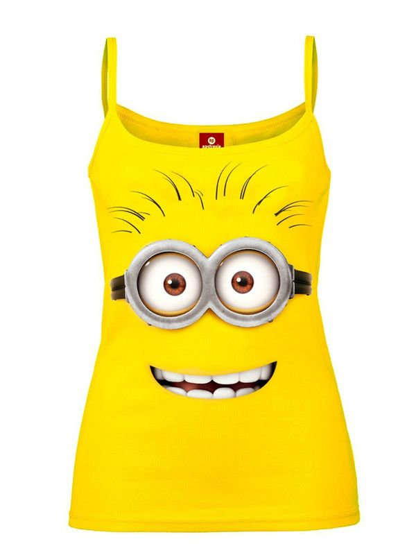Minions Minion Goggle Face Strap-Top yellow