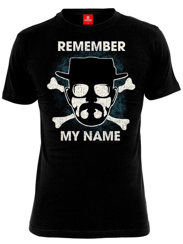 Breaking Bad Remember My Name T-Shirt black