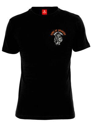 Sons of Anarchy SOA Charming Shirt black – Bild 0