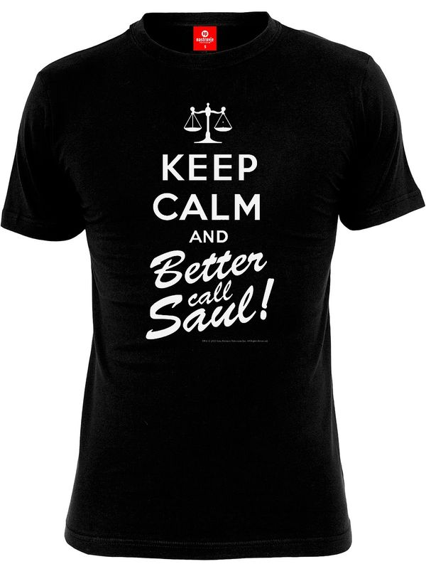 Breaking Bad Keep calm and better call Saul Shirt black