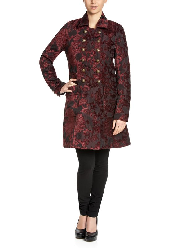 Vive Maria Amadeus Coat black/darkred – Bild 0