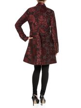 Vive Maria Amadeus Coat black/darkred – Bild 1