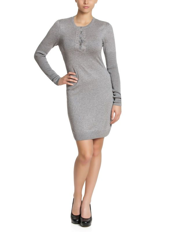 Vive Maria Bohamien Wool Dress grey-melange – Bild 0
