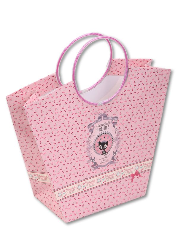 Pussy Deluxe  Gift bag set 2 pcs. bottle 10 x 10 x 40/ Trapez 20 x 12 x 27,5 – Bild 1