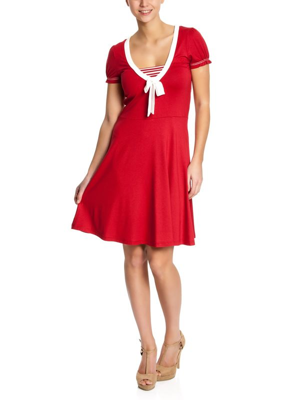 Vive Maria Sweet Ahoi Dress red – Bild 0