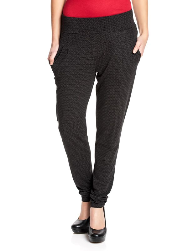 Vive Maria New Sense Dark Pants black allover – Bild 0