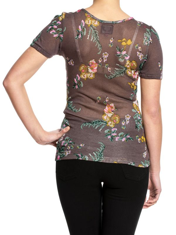 Vive Maria Bloomy Day Pullover brown allover – Bild 2