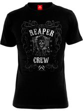 Sons of Anarchy SOA Vintage Reaper Crew T-Shrit black