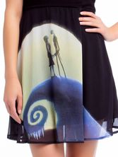 The Nightmare Before Christmas Romance Dress Kleid schwarz – Bild 2