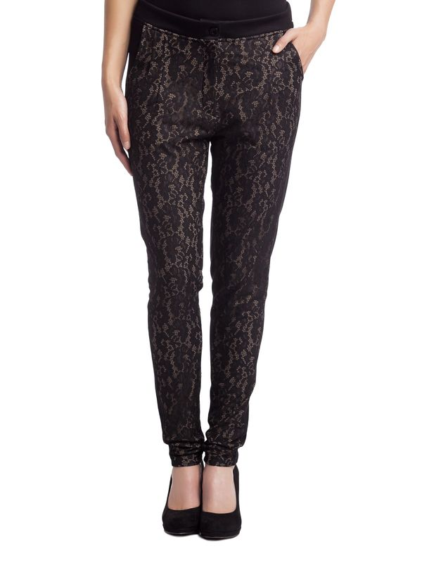 Vive Maria Black Lace Pants black – Bild 1