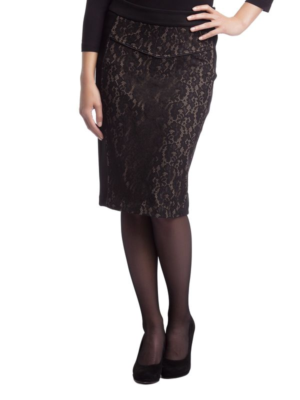 Vive Maria Black Lace Skirt black – Bild 1