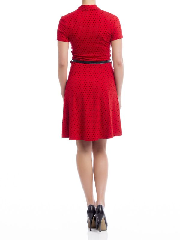 Pussy Deluxe Betty Dots Dress red – Bild 1