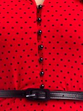 Pussy Deluxe Betty Dots Dress red – Bild 2