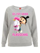 Minions Minion So Flauschig Girl Sweater Heather grey