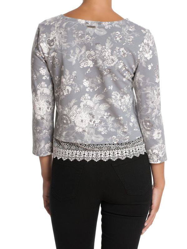 Vive Maria Smoky Rose Sweater grey allover – Bild 2