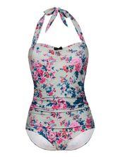 Vive Maria Happy Flower Swimsuit green allover – Bild 0
