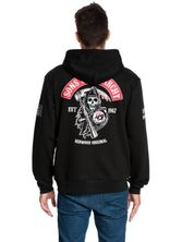 Sons of Anarchy SOA Red Hoodie male black – Bild 1