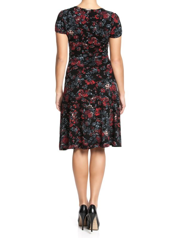 Vive Maria American Rose Dress black allover – Bild 2