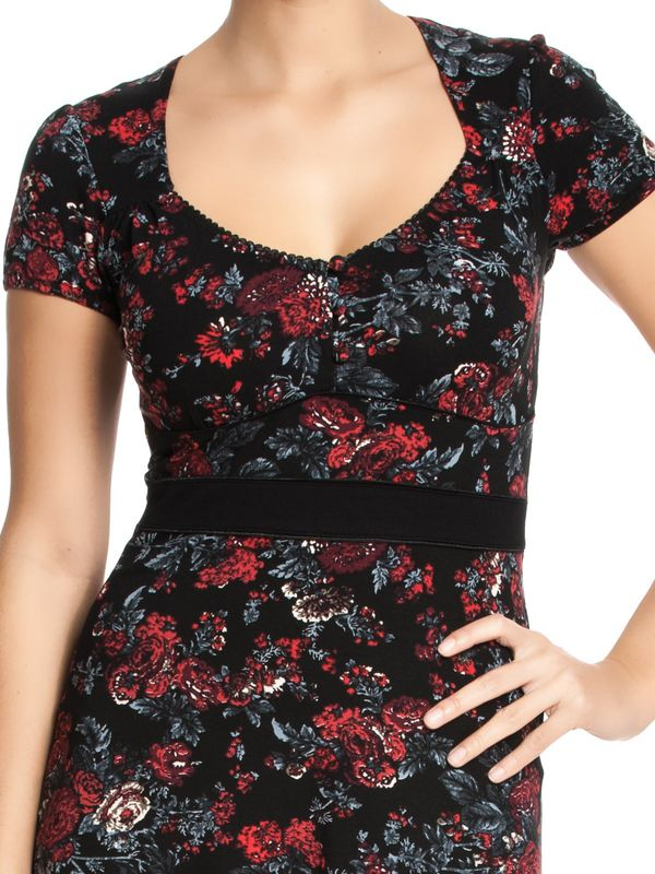 Vive Maria American Rose Dress black allover – Bild 3