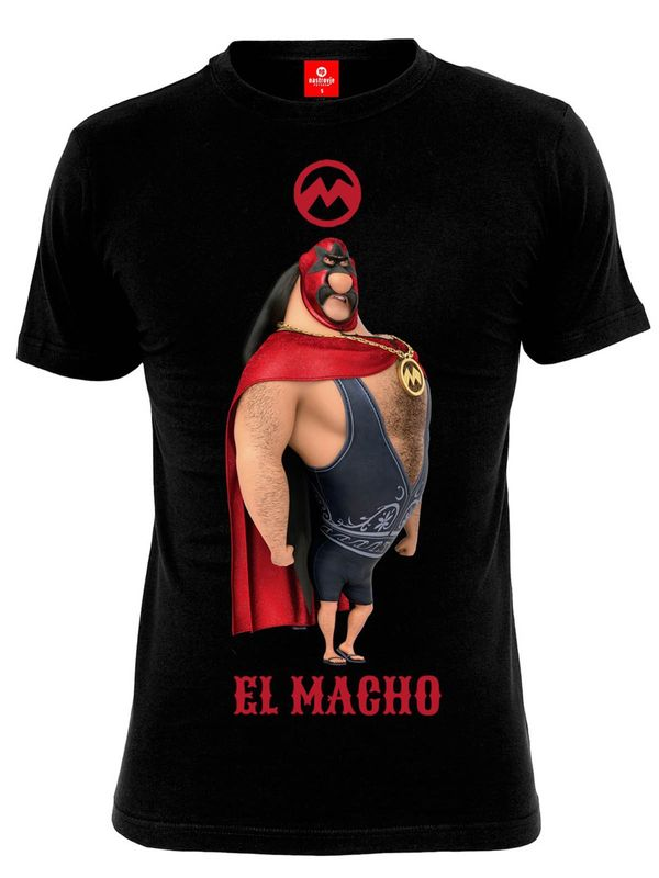 Minions El Macho male shirt black