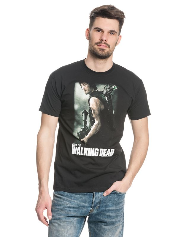 The Walking Dead Daryl hunter male Shirt black – Bild 1
