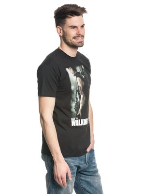 The Walking Dead Daryl hunter male Shirt black – Bild 2