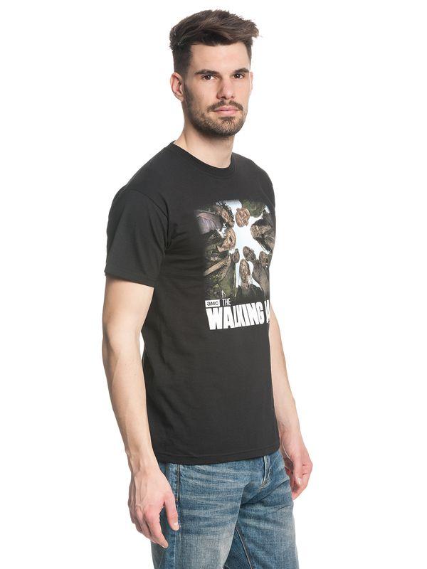 The Walking Dead Walkers male Shirt black – Bild 3