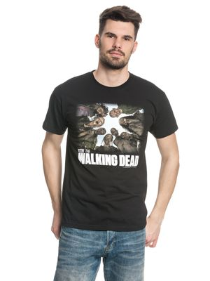 The Walking Dead Walkers male Shirt black – Bild 1