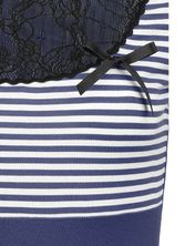 Pussy Deluxe Sally Striped Shirt blue – Bild 3