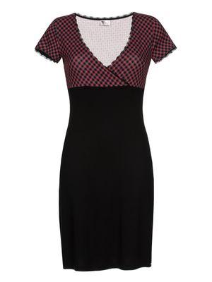 Pussy Deluxe Roxy Checkered Dress, Kleid – Bild 0