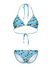 Sesame Street Cookie Monster Allover Bikini blue – Bild 0