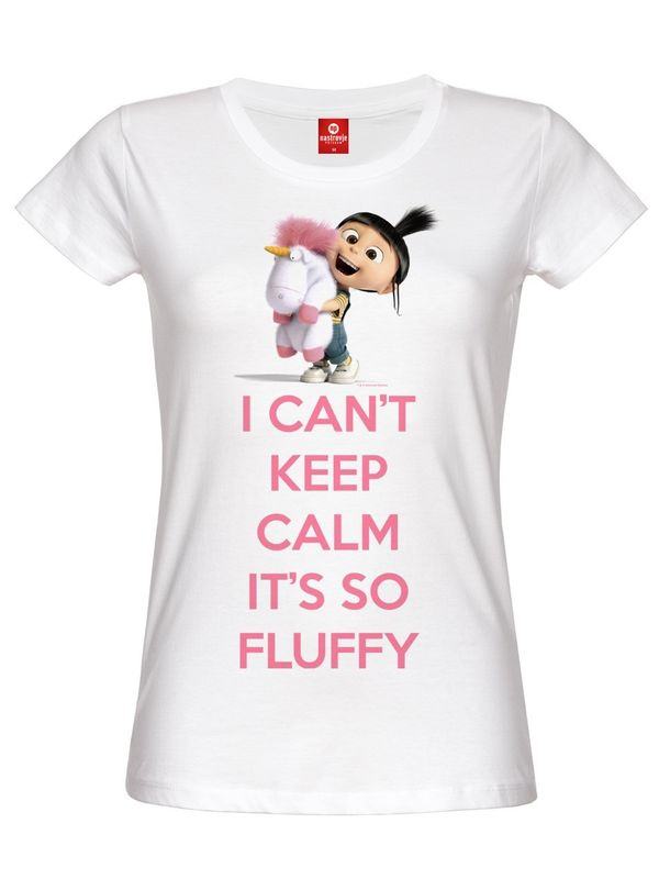 Minions I Can t Keep Calm It s So Fluffy Girl-Shirt