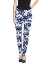 Vive Maria Faded Blue Roses Pants gray-melange allover  – Bild 1