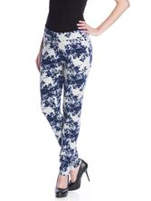 Vive Maria Faded Blue Roses Pants gray-melange allover  – Bild 2