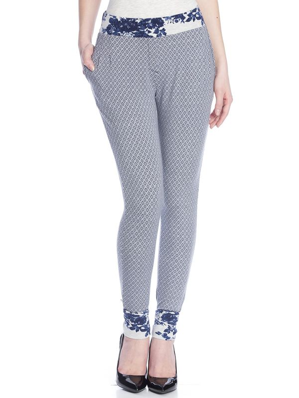 Vive Maria Sweet Blue Allover Pants gray-melange allover  – Bild 1