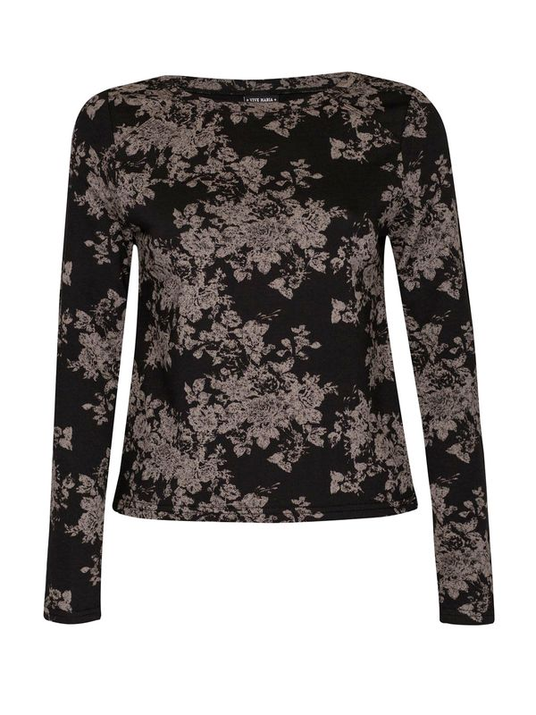 Vive Maria Dark Roses Sweatshirt black allover  – Bild 0