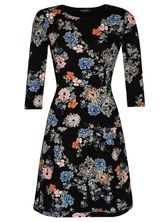 Vive Maria Floral Dream Sweatdress Kleid schwarz Allover-Print  – Bild 0