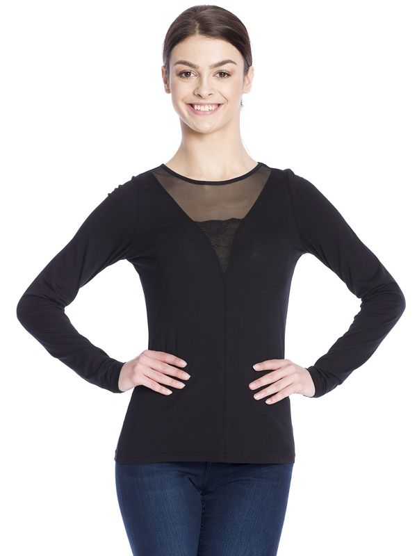 Vive Maria Black Evening Shirt schwarz  – Bild 1