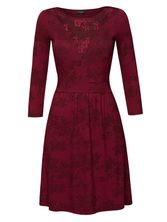 Vive Maria Red Roses Lace Dress red allover  – Bild 0