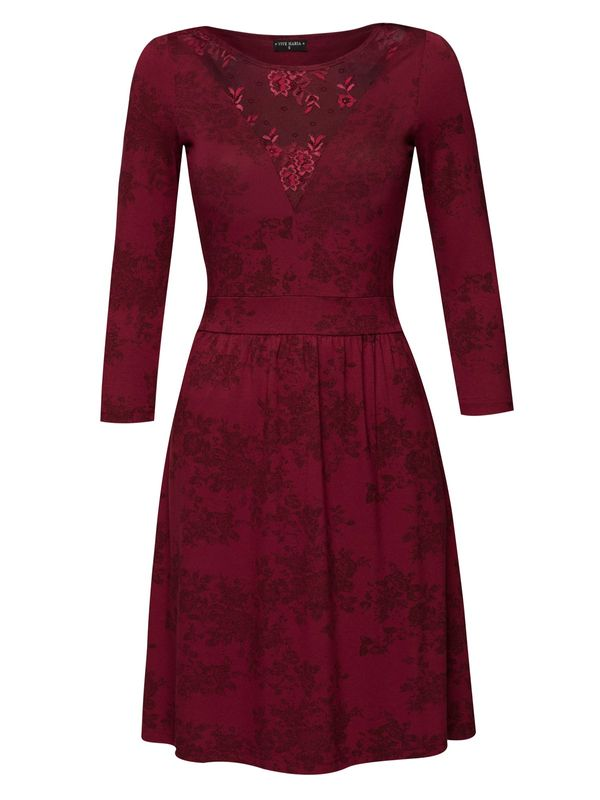 Vive Maria Red Roses Lace Dress red allover  – Bild 1