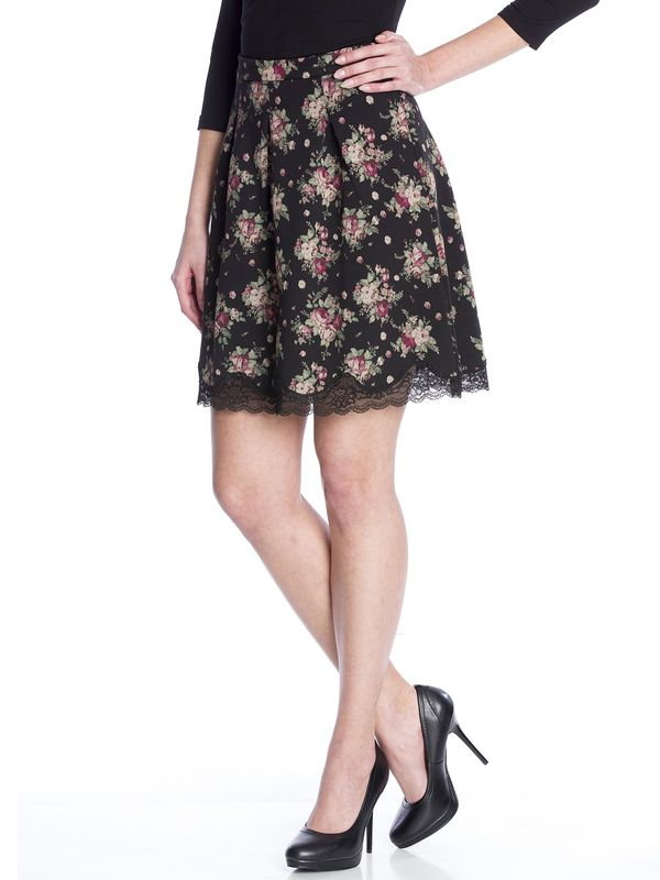 Vive Maria True Romance Skirt black allover  – Bild 2