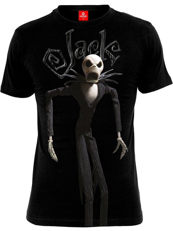 The Nightmare Before Christmas Jack T-Shirt black